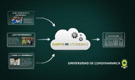 Campos de Aprendizaje Universidad de Cundinamarca