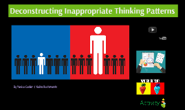 Deconstructing Inappropriate Thinking Styles