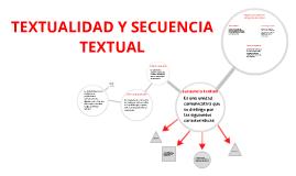 Copy of TEXTUALIDAD Y SECUENCIA TEXTUAL