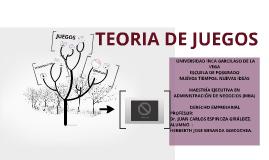 Copy of TEORIA DE JUEGOS