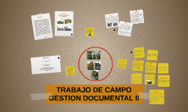 TRABAJO DE CAMPO - GESTION DOCUMENTAL II