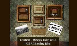 Context ~ Wessex Tales & Mocking Bird