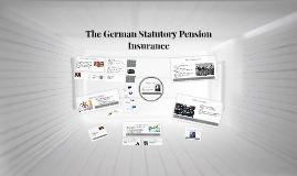 The German Statutory Pension Insurance