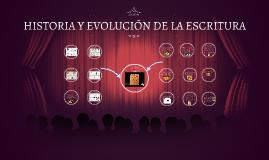 HISTORIA Y EVOLUCIÓN DE LA ESCRITURA