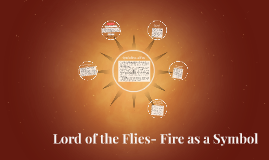 Lord of the Flies- Fire as a Symbol