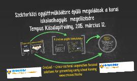 CroCoos projekt bemutatása, EMMI 2015. március 12.
