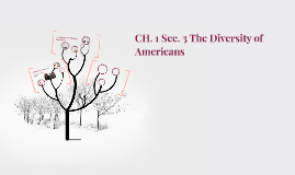 CH. 1 Sec. 3 The Deversity of Americans