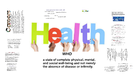 a state of complete physical, mental, and social well-being