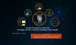 Desafíos Innovadores en Educaciión Mg. Emilse Carmona (2016)