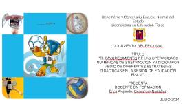 """Copy of """"El favorecimiento de las operaciones de adición y sustracci"""