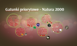 Gatunki priorytowe - Natura 2000
