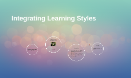 Integrating Different Learning Styles