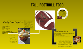 Fall Football Food