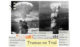 Truman on Trial