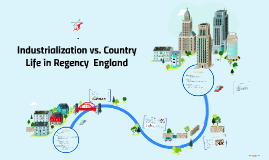 Industrialization vs. Country Life in Regency  England