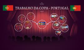 TRABALHO DA COPA - PORTUGAL