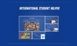 International student Helper