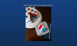 Dual Federalism I (Founding-1860)