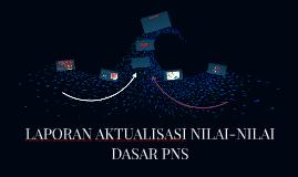 LAPORAN AKTUALISASI NILAI-NILAI DASAR PNS