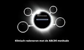 Klinisch redeneren met de ABCDE methode