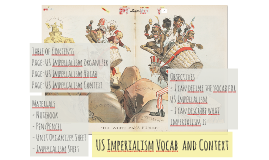 US Imperialism Vocab  and Context