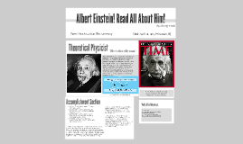 Albert Einstein! Read All About Him!