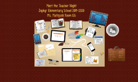 Copy of Meet the Teacher Night