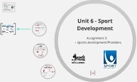 Sports Development provider