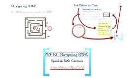 WCPHX 2013 - WordPress 301 (Navigating HTML)