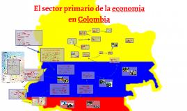 Copy of El sector primario en Colombia