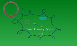 Event Planning Basics