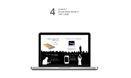 Ancsi - 4 powerful presentation lessons from Apple