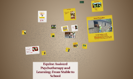Copy of Equine Assisted Psychotherapy and Learning