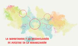 La importancia y la interrelación de puestos en la organizac