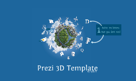 Copy of Prezi 3D TEMPLATE by sydo.fr