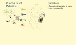 Conflict Israël Palestina
