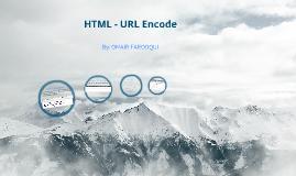 HTML URL Encode