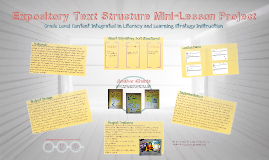 Expository Text Structure Mini-Lessons