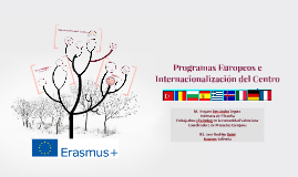 Programas Europeos e Internacionalización del Centro