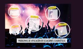 Copy of PROBLEMAS DE APLICACIÓN DE ECUACIONES CUADRÁTICAS