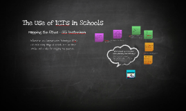 The Use of ICTs in Schools - Mapping the Ethos