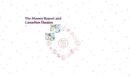 The Massey Report and Canadian Theatre