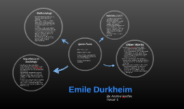 a biography of emile durkheim the sociologist Enjoy the best emile durkheim quotes at brainyquote quotations by emile durkheim, french sociologist, born april 15, 1858 share with your friends.