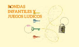 RONDAS INFANTILES Y JUEGOS LUDICOS