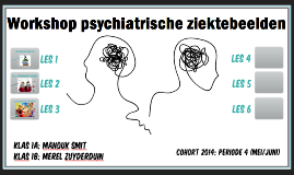 Copy of Workshop psychiatrische ziektebeelden