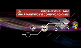 Copy of INFORME DPTO COMUNICACIONES
