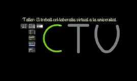 Taller Treball Col·laboratiu i TIC a la Universitat (I)