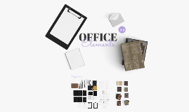 OFFICE ELEMENTS 2/2