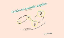 Estadios del desarrollo cognitivo - Piaget