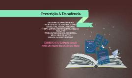 Prescrição & Decadência